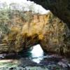 静岡観光 ジオパーク龍宮窟 ハートに見える洞窟